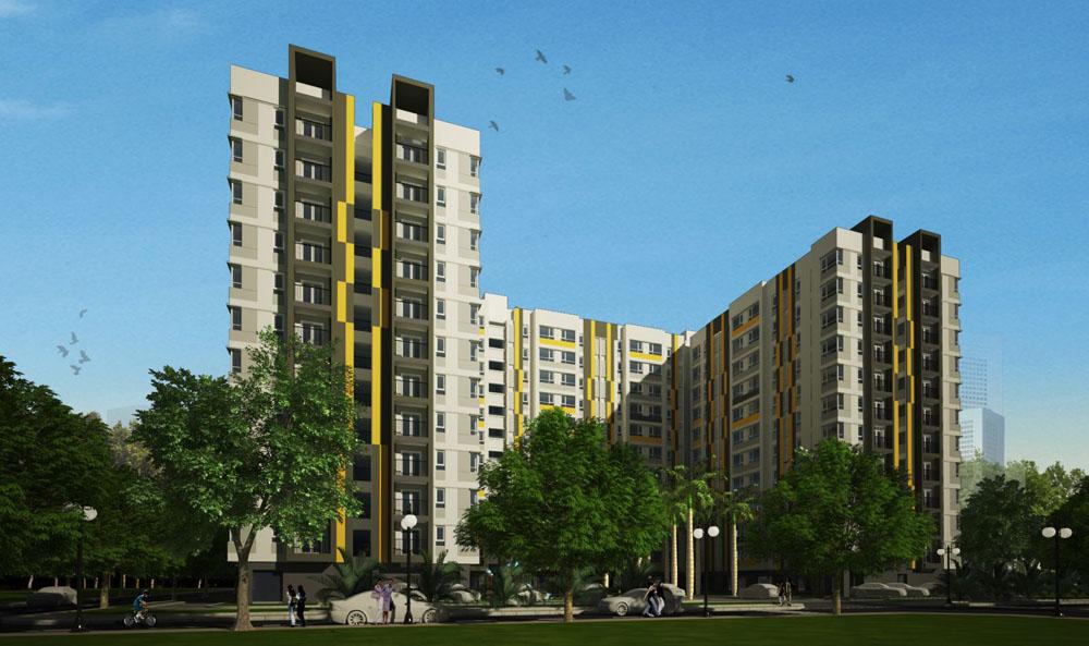 Phối cảnh 3D dự án Phú Thịnh Plaza